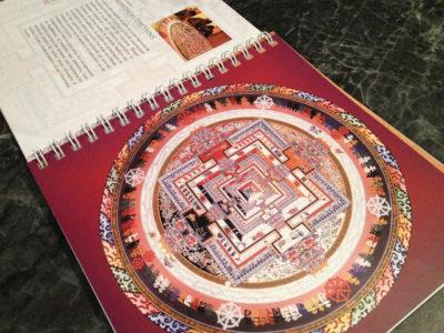 Mandala dessin centré